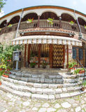 Church shop to Bachkovo Monastery in Bulgaria royalty free stock images