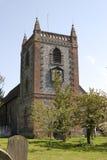 Church at Shoreham. Kent. England stock photos
