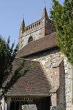 Church at Shoreham. Kent. England Stock Photography
