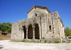 Church in shreds Royalty Free Stock Photo