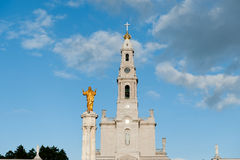 Church of the Shrine of Our Lady,Fatima, Portugal Stock Image