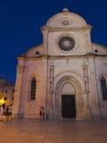 Church in Sibenik Croatia Royalty Free Stock Photo
