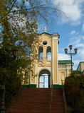 The Church in the Siberian city of Tomsk. stock image