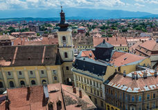 Church in Sibiu Stock Images