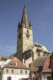 Church in Sibiu Royalty Free Stock Photos