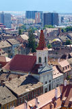 Church in Sibiu town, Romania Stock Photo