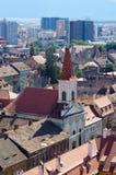 Church in Sibiu town, Romania Stock Photo