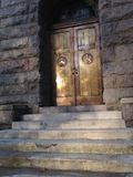 Church Side Entrance. Stock Photography