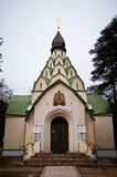 The Church of the Sigh of the Mother of God. In Seraphim-znamensky monastery Royalty Free Stock Photography