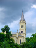 Church in Sighisoara city royalty free stock image