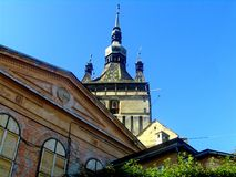Church in Sighisoara Stock Photos