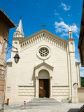 Church in Sighisoara town Stock Images