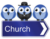 Church sign Stock Images