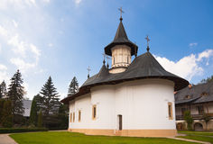 Church at Sihastria Monastery Royalty Free Stock Images