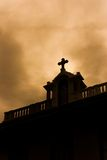 Church silhouette Stock Photo