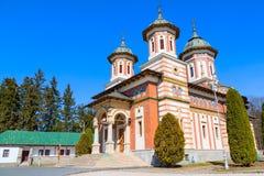 The church at Sinaia Monastery, Romania. The church at the Orthodox Sinaia Monastery, Romania royalty free stock photo