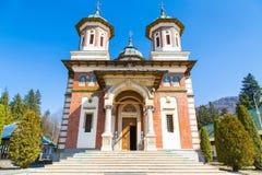 The church at Sinaia Monastery, Romania Stock Image