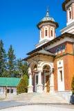 The church at Sinaia Monastery, Romania Stock Images