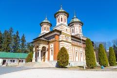 The church at Sinaia Monastery, Romania Royalty Free Stock Images