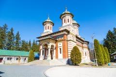 The church at Sinaia Monastery, Romania Royalty Free Stock Image