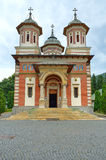 Church in Sinaia, Romania Stock Photo
