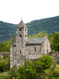 Church in Sion (Switzerland) stock image
