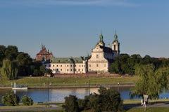 Church on Skalka in Krakow, Poland stock photos