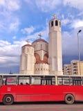 Church in Skopje royalty free stock photos