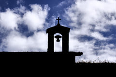 Church sky cross bell Royalty Free Stock Photo