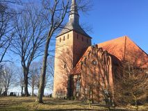 Church in Cisowo Poland Royalty Free Stock Image