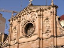 Church in Sliema on the island of Malta Royalty Free Stock Photos
