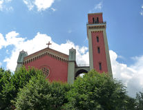 Church of the Slovak. View of old church in Slovak Stock Photography