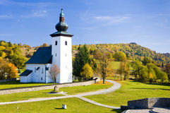 Church in Slovakia Royalty Free Stock Photo