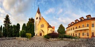 Church, Slovakia panorama Stock Images
