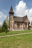 The church in Slovakia, Stary Smokovec Stock Images