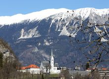 Church in Slovenia in Eastern Europe Stock Images
