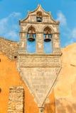 Church in small cretan village Kavros in Crete  island, Greece. Stock Photo