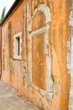 Church in small cretan village Kavros in Crete  island, Greece. Stock Photos