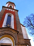 The church in a small czech village Royalty Free Stock Photography