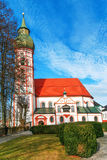 Church in small german town Stock Photo