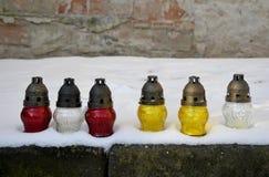 Church small lanterns Royalty Free Stock Image