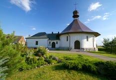 church small village стоковые изображения