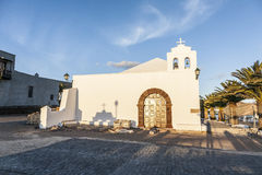 Church in small village of Femes in late afternoon Stock Images