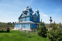 Church in Smolyany town in Belarus Stock Image