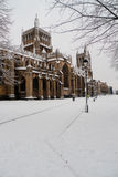 Church in snow Royalty Free Stock Photography