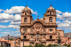 Church of the Society of Jesus, one of the main cathedrals of Cu Royalty Free Stock Photography