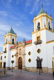 Church of Socorro in Ronda Stock Image