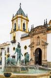 Church of Socorro, Ronda, Spain Royalty Free Stock Photography
