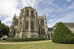 Church in Soissons Stock Images
