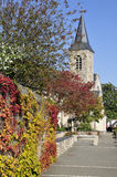 Church at Solesmes in France Royalty Free Stock Photo
